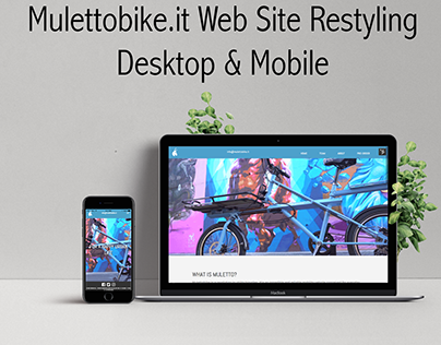 Mulettobike.it Web Site Restyling
