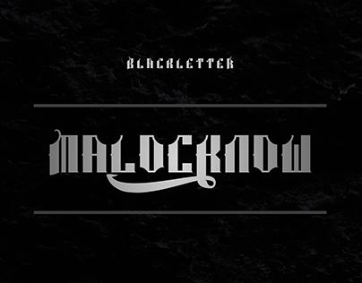 MALOCKNOW TYPEFACE