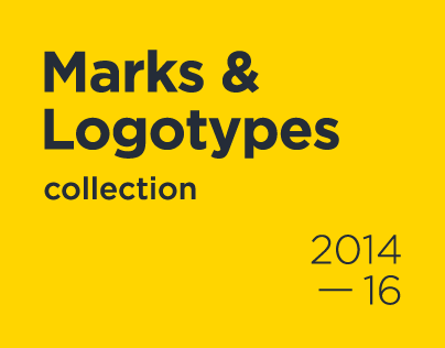 Marks & Logotypes Collection 2014-2016
