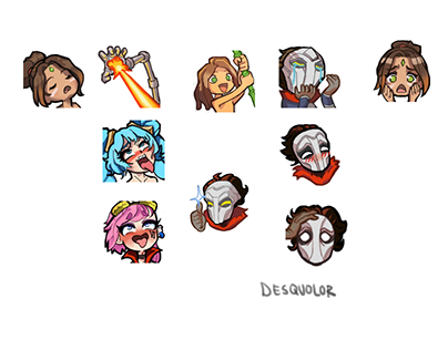 Twitch Emotes for clients (sample)