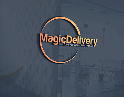 Professional eye-catching delivery logo