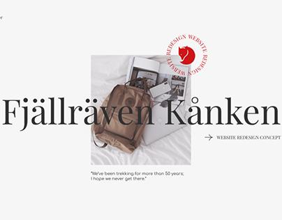 Fjällräven Kånken | Redesign Concept