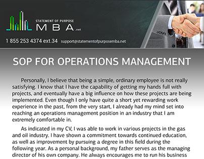 sop mba aviation management