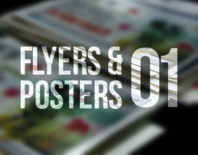 Flyers & posters vol.01