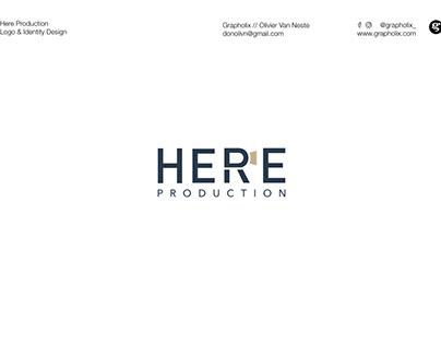 Branding & Logo Design - Here Production