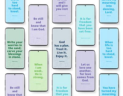 Spiritual Cell Phone Lock Screen