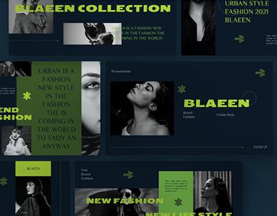 BLAEEN Brand Presentation Template