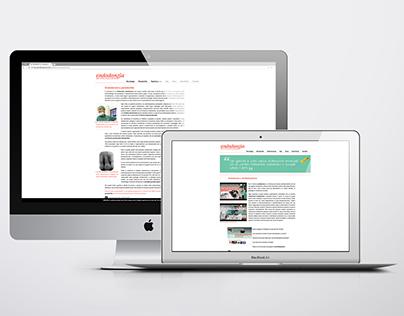Progettazione grafica sito web devitalizzazione.com