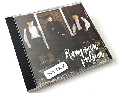 CD cover design and concert marketing materials
