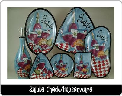 Dinnerware designed for Hausenware