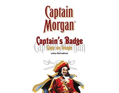 Captain Morgan: Captain's Badge Copy on Image
