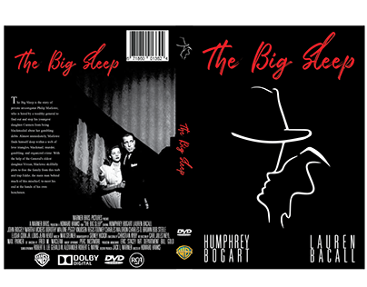 The Big Sleep DVD Packaging