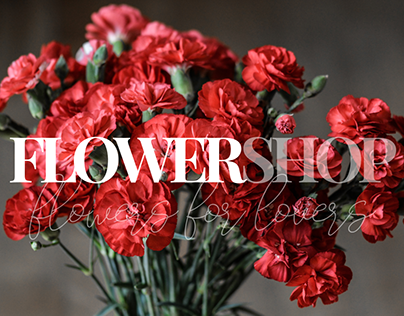 Online shop / Flowers shop