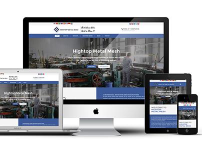Hightop Metal Mesh - UI/UX Design,Responsive Web Design