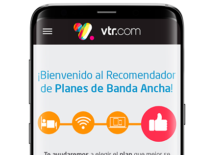 2017 Responsive landing pageRecomendador Banda Ancha