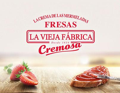 """La Vieja Fábrica """"Cremosa"""" Mermeladas"""