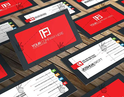 Simple – Premium Business Card PSD Template