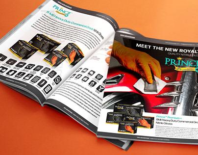 Prince Premium+ 8mil Industry Gloves Sales Deck