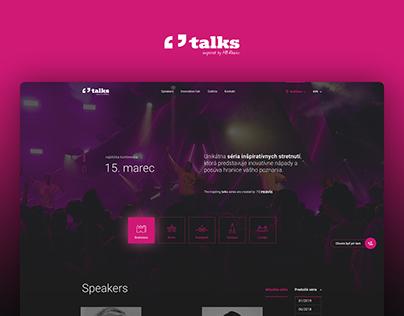 Talks | Webdesign / UX / UI