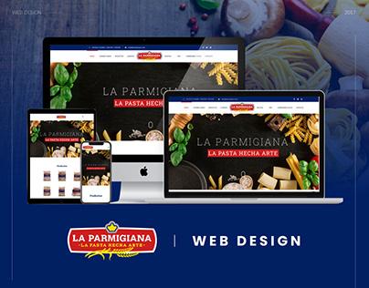 Web Design | Pastas La Parmigiana