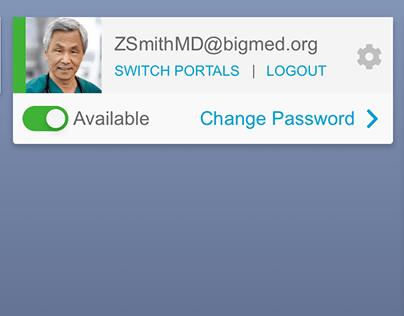 User Settings redesign