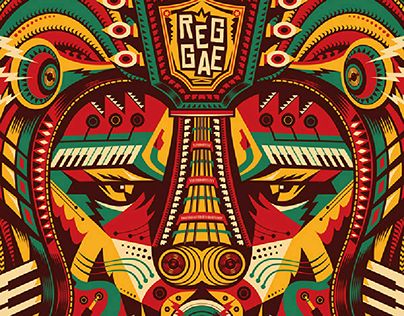 Reggae Poster | 1st Place Winner in the 6th IRPC 2018