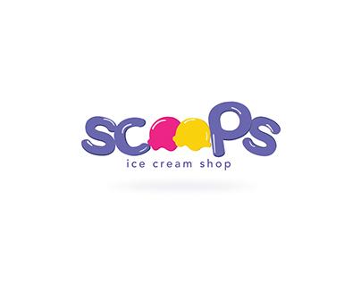 Scoops branding