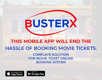 BusterX Cinema Hall Branding