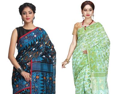 Jamdani Sarees Collection
