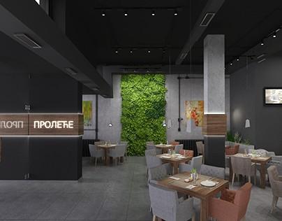 """""""Proleće"""" restaurant, Čačak, Serbia, 2017"""