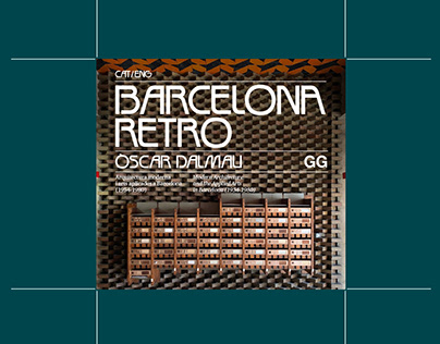 Barcelona Retro | Editorial Design