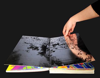 an interactive book    book object