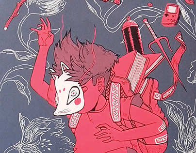 Kitsune Boy Deck | 24 DECKS Exhibition