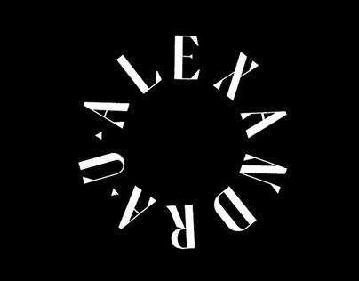 Alexandra U / Fashion Designer Identity
