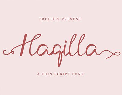 Haqilla Font | Best Uinque Calligraphy Font
