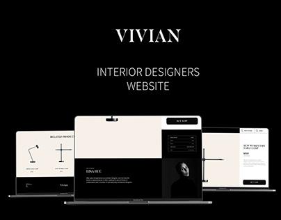 Vivian | Website design | UI/UX