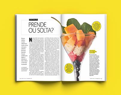 """Revista Saúde - """"Constipação: prende ou solta?"""""""