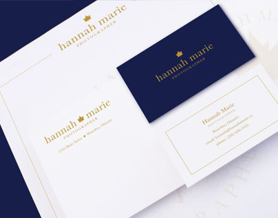 Hannah Marie Photography Branding