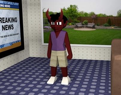 Nate 3D model