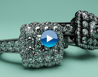 Engagement ring animation