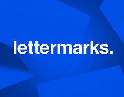 lettermarks or whatever