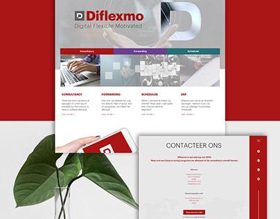 Diflexmo web design (concept)