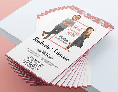 Wedding Card | Caricatures