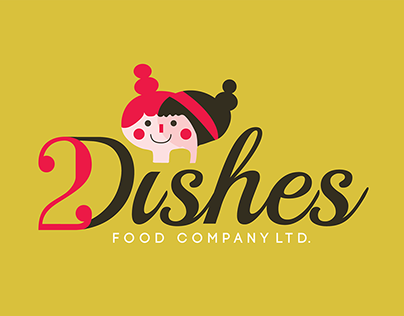 2 Dishes Food Company Inc. Branding