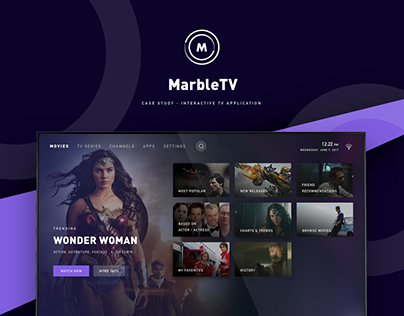 Marble Interactive TV App - Case Study