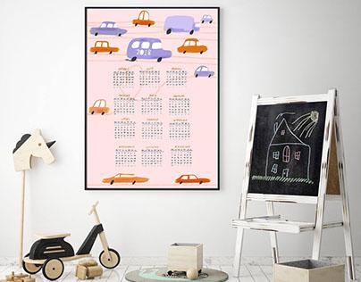 Pojazdy kalendarz