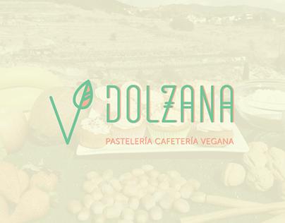 Dolzana, Pastelería Vegana, Identidad Visual