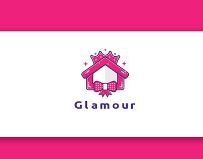 Glamour logo design