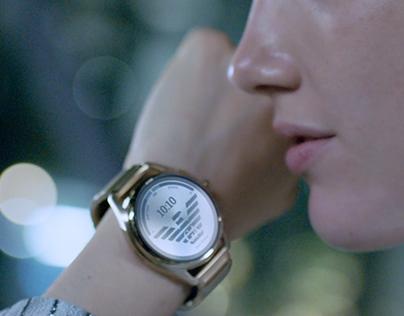 Emporio Armani SS2020 Watches Campaign