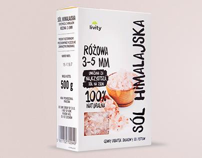 Livity - Himalayan salt series